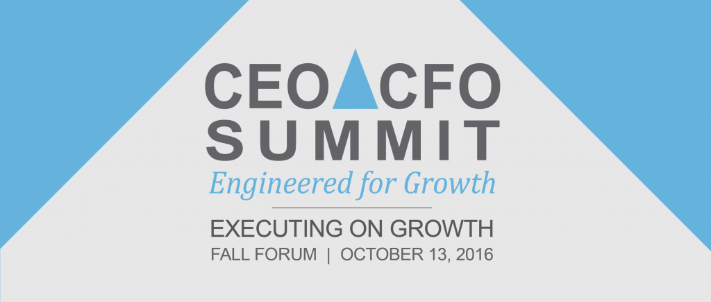 1073 -- CEO CFO Summit- FALL Forum 2016_HEADER